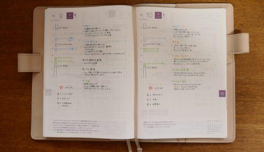 【手帳の書き方①】ほぼ日手帳カズン