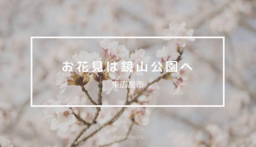 【東広島】お花見は鏡山公園へ!満開の桜をゆったり楽しもう
